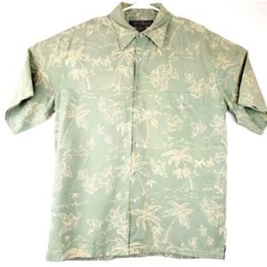 Tori Richard Men's Sz Medium 100% Silk Shirt